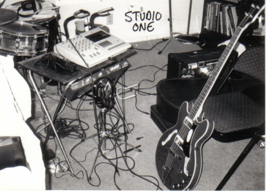 My first demo studio circa 1993.