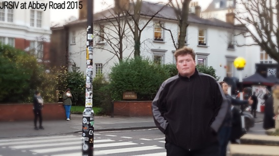 John at Abbey Road, London 2015