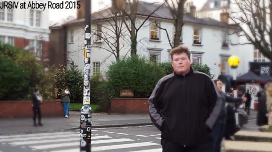 John at Abbey Road, London 2015